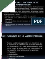 Definicion y Funciones de La Administracion
