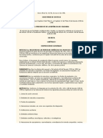Decreto Naturaleza ONG