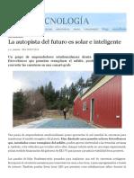 Paneles Solares Fotovoltaicos Reemplazan El Asfalto