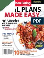 Clean Eating 52 Week Meal Plan 2013