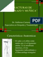 Fx Antebrazo y Muc3b1eca