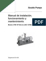 Manual de Instalación, Funcionamiento y Mantenimiento de Bombas