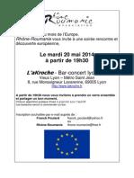 Invitation Les Mardis de Rhône-Roumanie 2014 0520