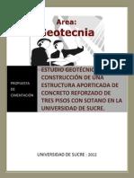 Proyecto Geotecnico de Geotecnia II
