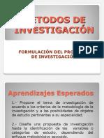 Formulación Del Problema de Investigación II