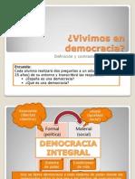 Definición Democracia