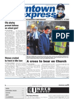 NOVEMBER 13, 2009 Downtown Express