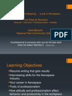 resume  professionalism class
