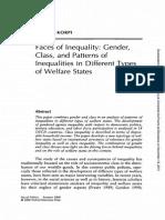 SP Korpi - Class and Gender Inequalities
