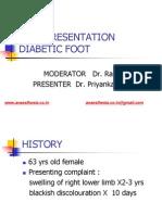 Diabetic Foot Case Presentation
