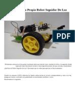 construcción de un robot led.pdf
