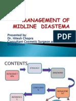Management of Midline Diastema