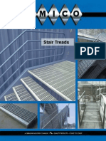 AMICO - Grating Stair Tread Section