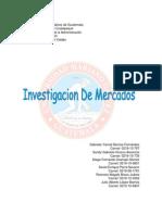 Investigacion de Mercados