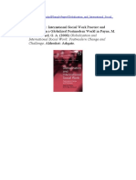 International Social Work Practice and Education in a Globalized Postmodern World