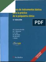 Banco de Instrumentos Básicos Para La Practica de Psiquiatria Unidad 2 (Definiciones)