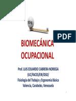 Antropometría y Biomecánica - 2da Parte