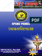 RPSMU Primer on PNP PATROL PLAN 2030