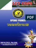 RPSMU Primer on PNP PATROL PLAN 2030