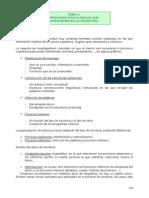Tema 9 Procesos Psicologicos