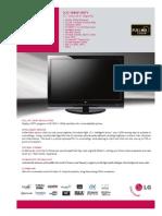 52LG70 Spec Sheet