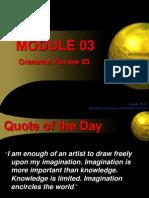 Module 03