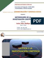 MET INV CIENTIFICA Comunic Inv Cient - Ética e Investiga M (20) Avanzado