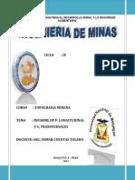 Informe de Topo Perfil - Seccion
