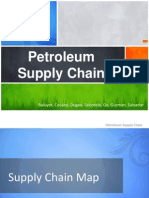 Petroleum Supply Chain in the Philippines