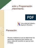 Planeacion y Programacion Del Mantenimiento