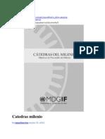 CATEDRAS DEL MILENIO Presentaciones.docx