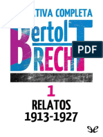 Brecht, Bertolt - [Narrativa Completa 1] Relatos 1913-1927 (r1.0 EPL)