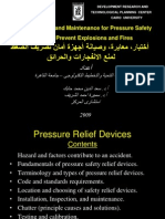 PRESENTATION FOR Pressure Relief Safety Valves