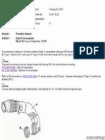 VEH MB ML320 OIL DTB Air Intake Seal