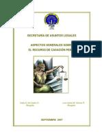 Aspectos Generales de Casación Penal en Panama - Ministerio Publico