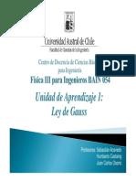 03° Clase - Ley de Gauss y Flujo Eléctrico