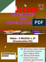 Sistem Hukum Dan Peradilan Nasional Kls x Ppkn 2013