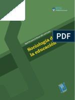 Tenti Fanfani Sociologia de La Educacion