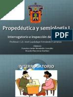 Interrogatorio e inspección