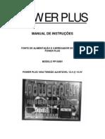 Manual Fonte Power Plus Pp100bv