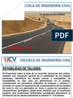 Escuela de Ingeniería Civil i v- Caminos