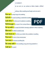15 Useful Phrasal Verbs