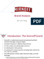 Smirnoff Vodka Brand Analysis