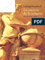 Ludwig a Feuerbach - La Esencia de La Religión