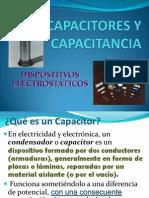 Capacitores y Capacitancia