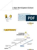 Towards an Open Development Culture