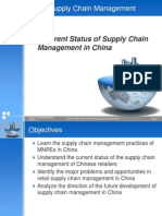 6.1Current Status of Supply Chain Management in China