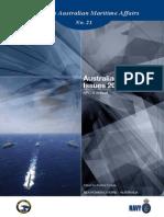 Paper In Australian Maritime Affairs Number 21