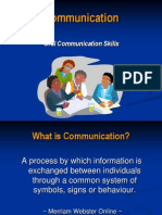 Oral Communication Overview