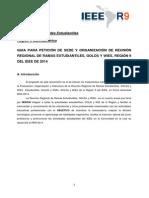 Guia Para Peticion de Sede RRR2014